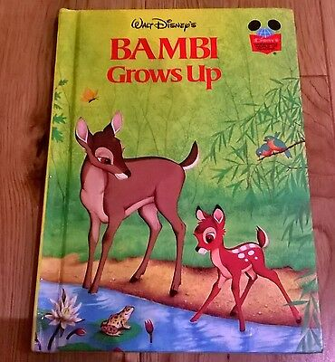 Bambi Grows Up. First American Edition 1979 The Walt Disney Company