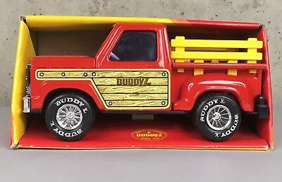 Vintage 1979 Buddy L Big Red Pick Up Steak Truck New Old Stock