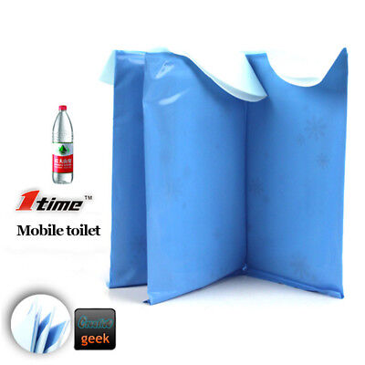 4PCS Mini Toilet Bag Portable Emergency Pee Urine For Outdoor Camping Travel Car