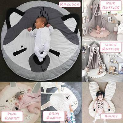 Cartoon Cotton Baby Infant Creeping Mat Playmat Crawling Blanket Rug Carpet-HOT
