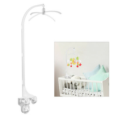 Baby Crib Cart Bed Bell Toy Holder Cradle Rattles Bracket Early Learning TH772