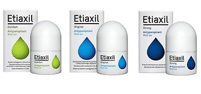 Etiaxil Anti-Perspirant Comfort Komfort Original Strong Stark  Roll On 15 Ml