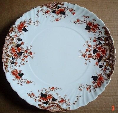 Very Old Royal Albert Large Side Salad Breakfast Plate Circa 1896 - 1904