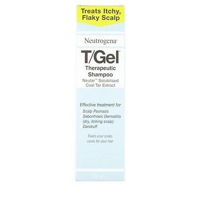 Neutrogena T/Gel Therapeutic Shampoo, 250 ml NEW