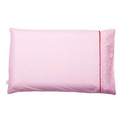 Clevamama Replacement Toddler Pillow Case (Pink) NEW