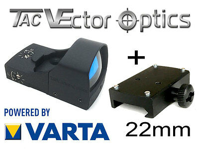 VECTOR OPTICS RedDot mit 22mm Montage Rotpunkt Visier (DOC-Style) SPHINX