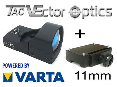 VECTOR OPTICS RedDot mit 11mm Montage Rotpunkt Visier (DOC-Style) SPHINX