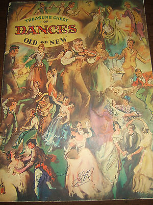 Vintage 1937 Treasure Chest Of Dances Old And New