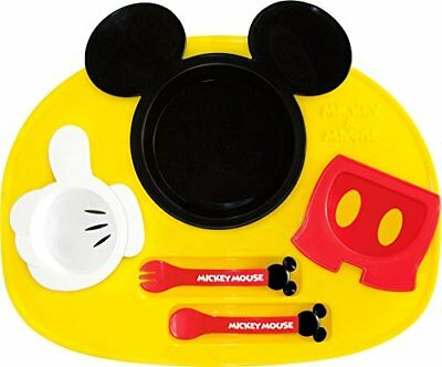 Nishikaze Kasei Disney Mickey Mouse Icon Runch Plate Japan
