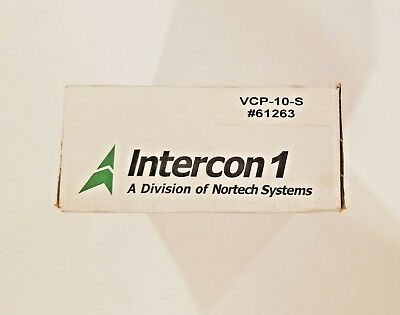 NEW Nortech Systems / Intercon1 VCP-10-S Cable for Sony XC Series Cameras