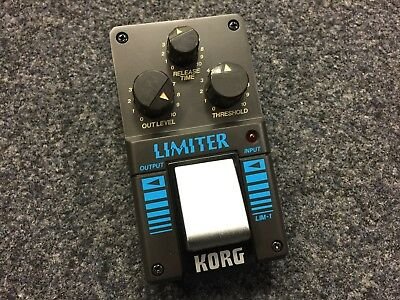 Korg LIM-1 | Limiter | Vintage | NOS | Made in Japan