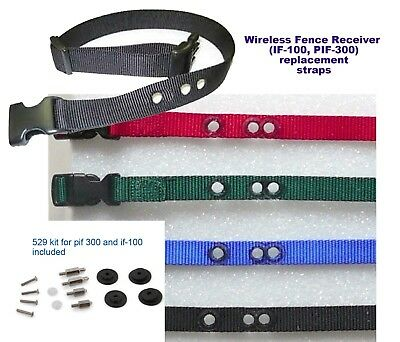 PETSAFE STAY AND PLAY 1 inch  replacement collar strap/w 529 kit