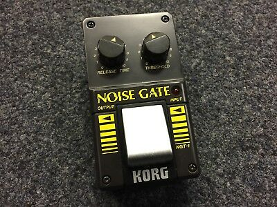 Korg NGT-1 | Noise Gate | Vintage | NOS | Made in Japan