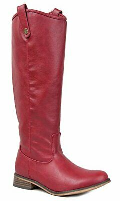 ec3116eea73d5 BRECKELLES RIDER-18 WOMENS Classic Knee High Riding Boots - $39.99 ...