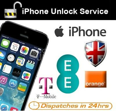 Factory Unlock Service For iPhone 6S/6S Plus EE TMOBILE & ORANGE UK CLEAN IMEI