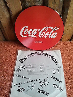 Picture LP Coca Cola - Rock around Regensburg- 1987 TOP RARITÄT