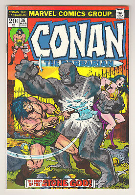 Conan The Barbarian #36 - Marvel (March 1974) - 6.0 Fn Condition