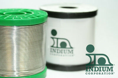 """Indium Solder Wire, 100"""" inches  Water Wash,  .032""""  Micro Electronics, C.Boards"""