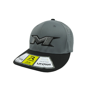 Miken Hat by Richardson (PTS30) Black/Grey/Grey/Black/Zebra XS/SM