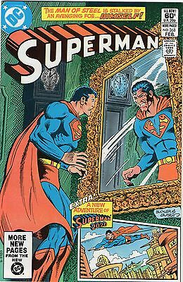 Superman #368 (1st Series) Supergirl appearance DC Comics 1982 FN+!!!