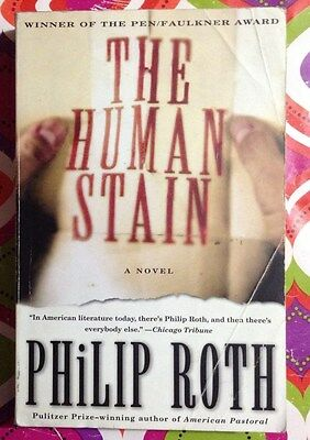 The Human Stain by Philip Roth c2001, Good Paperback, We combine shipping
