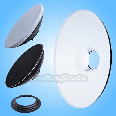 42cm 16'' White Honeycomb Grid Beauty Dish Hensel Mount (Speedring Changeable)