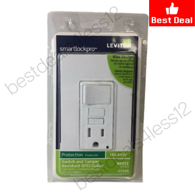 (New) Tamper-Resistant GFCI Switch & Outlet Combination Wall Plate