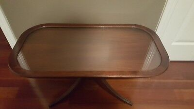 antique duncan phyfe style coffee table