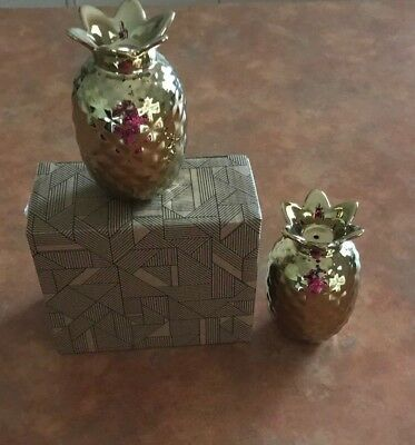 Pineapple Salt And Pepper Shakers Pineapples Retro Kitch Vintage Homewares