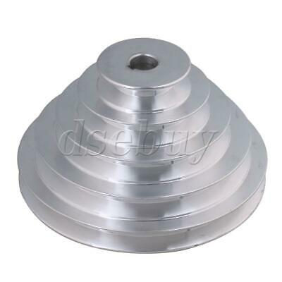 BQLZR 16mm Bore 5 Step A Type V-Belt Pagoda Pulley Belt Outter Dia 54-150mm