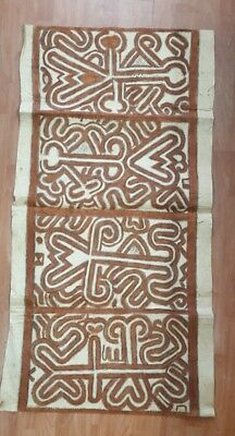 Papua New Guinean Tapa Cloth Oro Provence