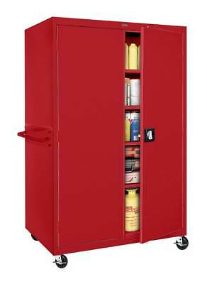 Transport Mobile Series Cabinet in Red [ID 54185]