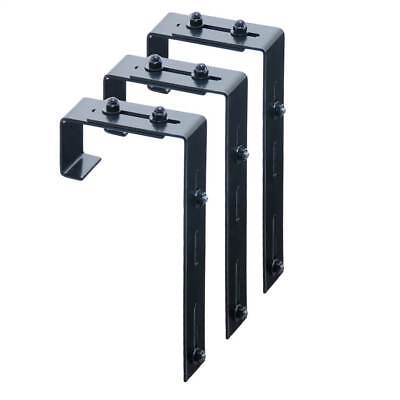 Adjustable Deck Rail Bracket - Set of 3 [ID 132844]