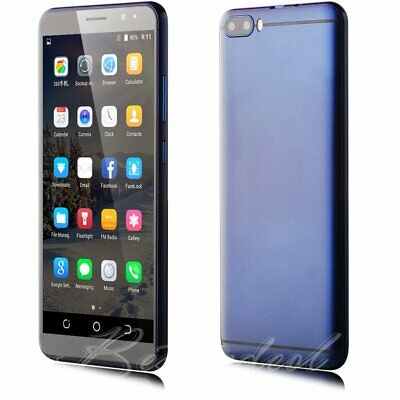 """6"""" Unlocked Android 8.1 Smart Cell Phone T-Mobile Quad Core TWO Sim 3G GSM WIFI"""