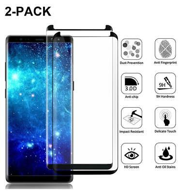 Case Friendly Tempered Glass Screen Protector For Samsung Galaxy Note 8 S8 S9+