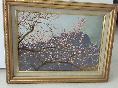 Vietnamese tapestry of Cherry Blossom