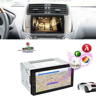 7'' Android 6.0 HD 2 DIN TFT WIFI Car Stereo Radio Player GPS Navi AM FM RDS 16G
