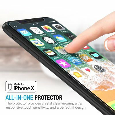 2X HD Tempered Glass Screen Protector Guard For Apple iPhone 7/7+/8/8 Plus/ X