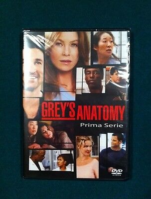 Grey's Anatomy Stagione 1 In DVD Cofanetto