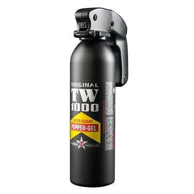 TW1000 Pfefferspray Super Giant Professional 400 ml Pepper GEL Tierabwehr