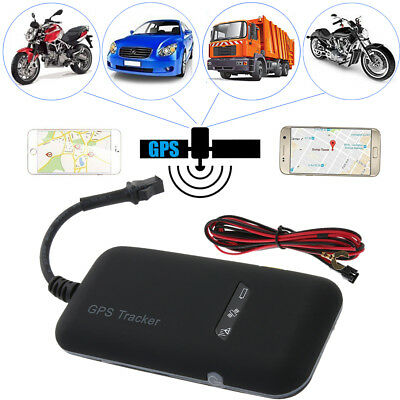 GPS Vehicle Tracker Real Time Locator GSM/GPRS Motorcycle Car Bike Anti-theft