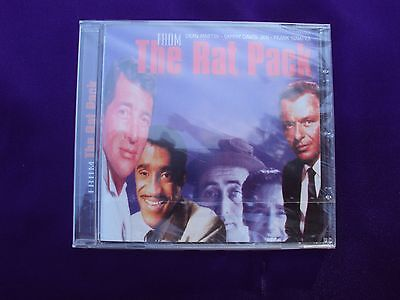 From The Rat Pack - Imported CD - NEW - Dean Martin, Sammy Davis, Frank Sinatra