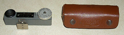 Vintage Presision Pocket Range Finder & Case - Hugo Meyer & Co.