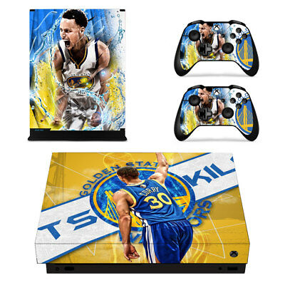 Xbox One S Slim Controller Splash Bros Stephen Curry Klay Thompson Vinyl Sticker Faceplates, Decals & Stickers