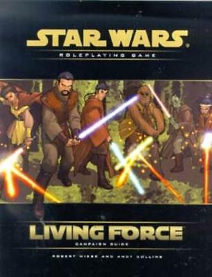 WOTC Star Wars d20 Living Force Campaign Guide SC VG+