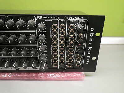 Analogue Solutions Oberkorn MK3 Sequencer