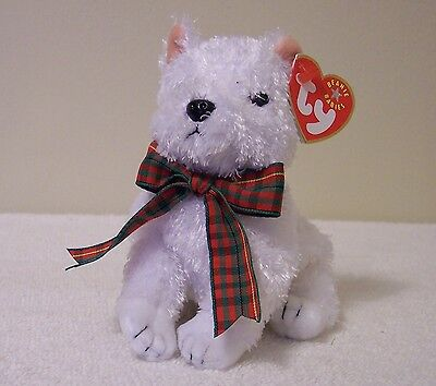 """Ty Beanie Babies Collection   """"kirby""""  Prancing On The Icy Snow  Valentine Gift"""