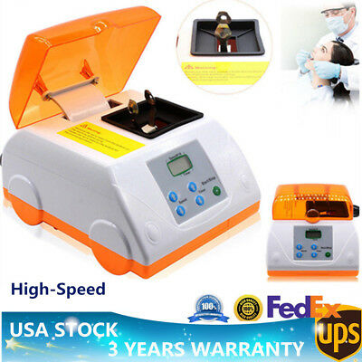 Dental Lab LCD Digital Hi-Speed HL-AH Amalgamator Amalgam Capsule Mixer Machine