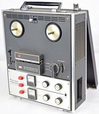 Vintage Panasonic RS-755S 4-Track Solid State Stereo Phonic Tape Recorder PARTS