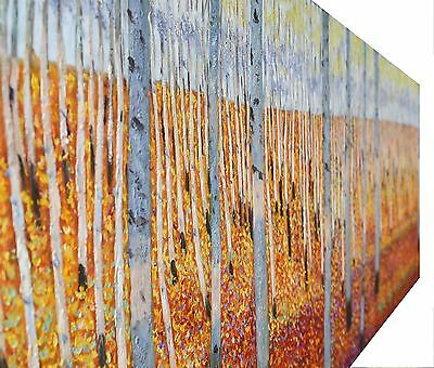 150cm print canvas the bush scrub Painting landscape art Australia aboriginal